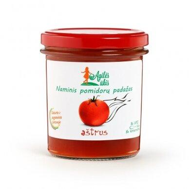 Aštrus naminis pomidorų padažas, Agilės ūkis 320 gr.