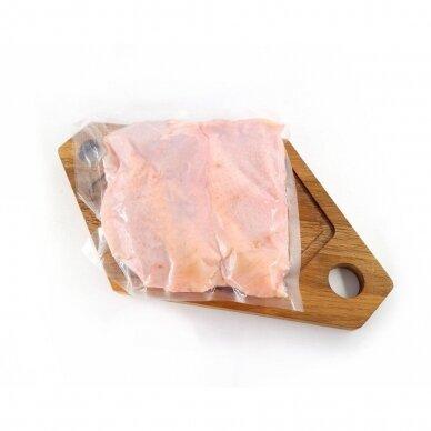 """Atvėsinta naminio viščiuko """"Ranger GOLD"""" Šlaunelių mėsa be kaulo, Farmers Circle 600 gr. 2"""