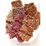 Brandintų linų sėmenų duonelės su paprikomis ir čili pipirais, Smilgių ūkis, 100 gr.