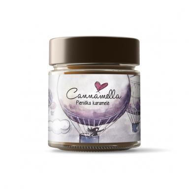 Cannamella pieniška karamelė, 240 gr.
