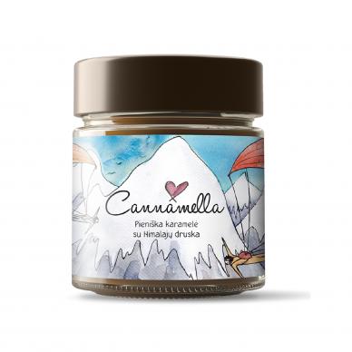 Cannamella pieniška karamelė su Himalajų druska, 240 gr.