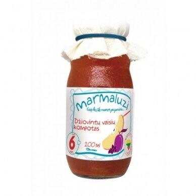 Džiovintų vaisių kompotas MARMALUZI (nuo 6 mėn.), 200 ml.