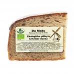 Ekologiška kvietinė duona, Du Medu 500 gr.*