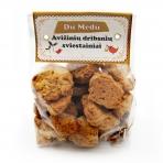 Ekologiški avižinių dribsnių sausainiai, 250 gr.
