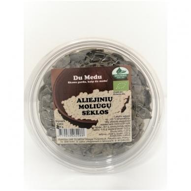 Ekologiškos aliejinių moliūgų sėklos, Du Medu 200 gr.