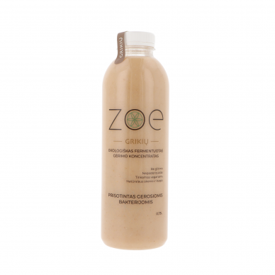 Grikių ekologiškas fermentuotas gėrimo koncentratas, ZOE 750 ml.*