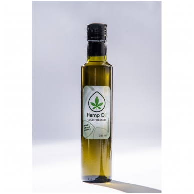 Kanapių aliejus Superb Hemp, 250 ml.