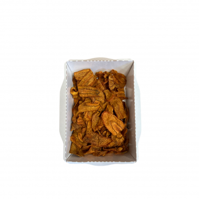 Keptų morkų traškučiai, Žali Žali 50 gr.