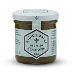 Medus su pipirmėte, Bičių lobiai, 200 gr.