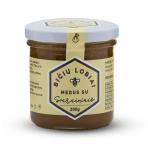 Medus su svarainiais, Bičių lobiai, 200 gr.
