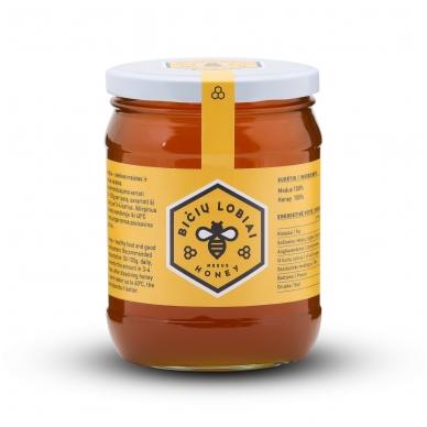 Medus, Bičių lobiai, 700 gr. 2