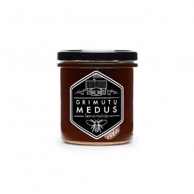 "Medus ""Ruduo"", Grimutų medus 420 gr."