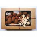 Migdolai pieniško šokolado apvalkale su cinamono dulkėmis, GoodNuts 135 gr.