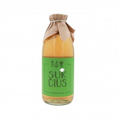 Natūralus daržovių sultinys, SUKČIUS 750 ml.