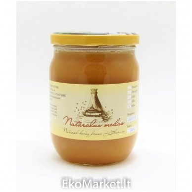 Natūralus medus, Pavasarinis 700 gr. 2