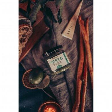 Pesto BASILICO, 190 gr. 2