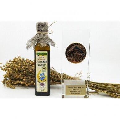 Linų sėmenų aliejus, Katinų ūkis 250 ml. 2