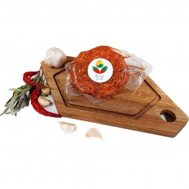 Šefo brandintos Angus jautienos paplotėlis mėsainiams, Farmers Circle 200 gr.