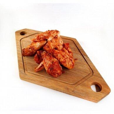 Šefo marinuoti BBQ vištienos sparneliai, Farmers Circle 800 gr.