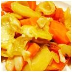 Vegetariškas apkepas su morkomis ir pastarnokais