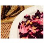 Virtų burokėlių salotos